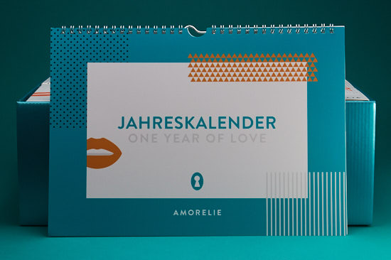 Deckblatt Jahreskalender Booklet