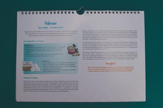 Jahreskalender Booklet Februar