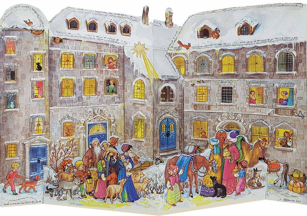 Papieradventskalender An der Burg