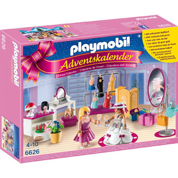 Ankleidespaß für die große Party Playmobil Adventskalender 2015