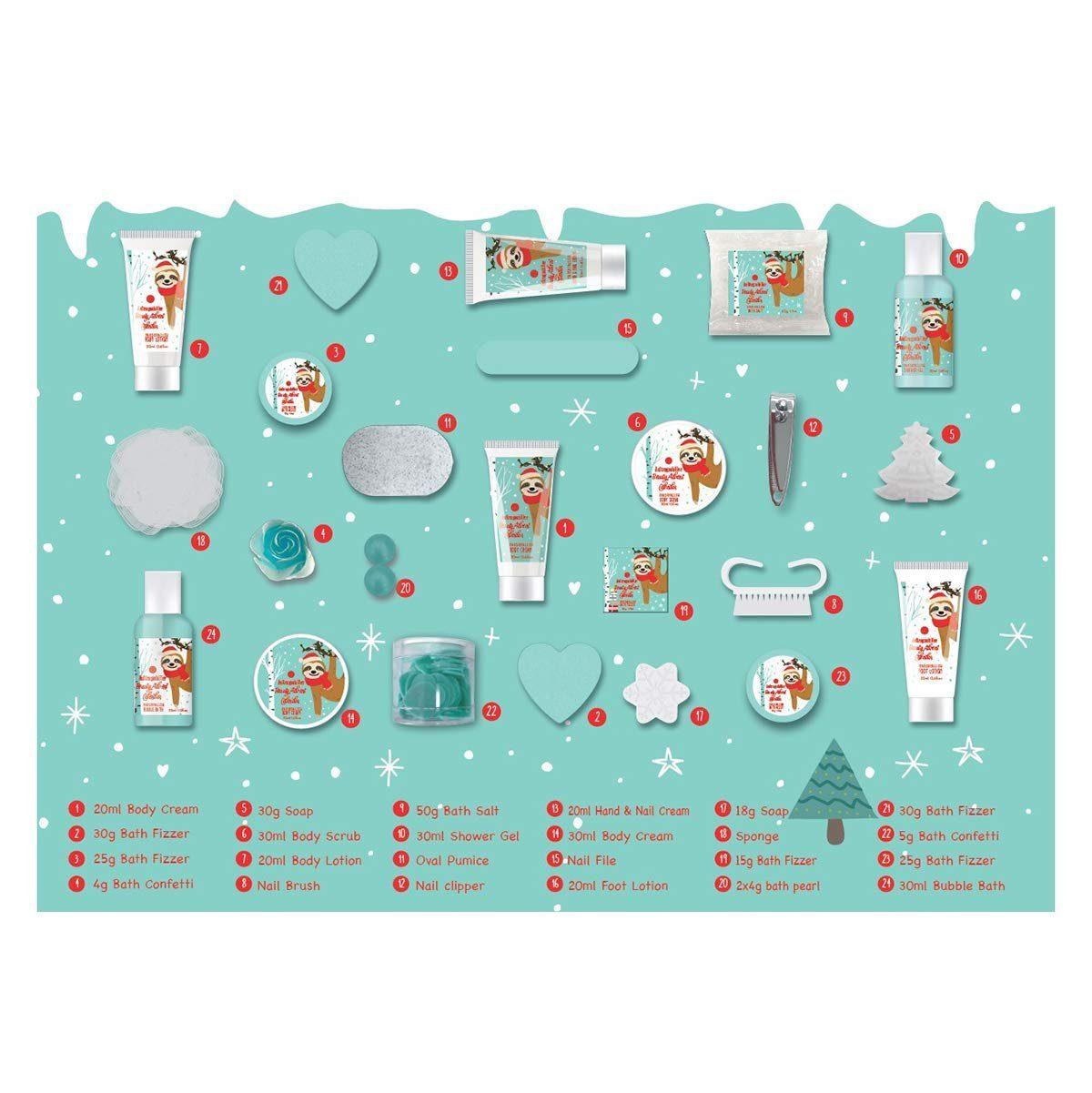 Auftragschiller Adventkalender - Inhalt 2