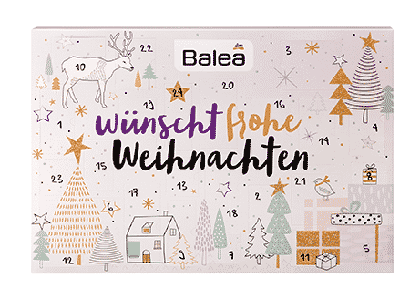 Beauty Balea dm Adventskalender Frauen 2016