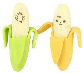 Bananenradiergummi