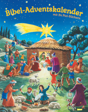 Bibel-Adventskalender mit Pixi-Büchern