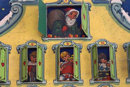 Adventskalender Geschichte Dora Braun