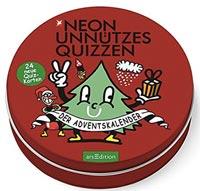 Neon Unnützes Quizzen - Adventskalender 2016
