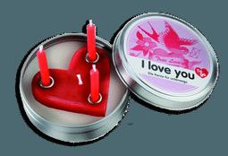 Kerze aus der Dose - I love you - Donkey - Adventskalender für Freund