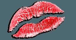 Foto Kuss bzw. Kussmund für Adventskalender Männer