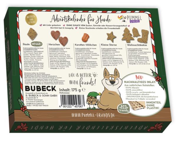Inhalt - Pummeleinhorn Hunde Adventskalender 2021