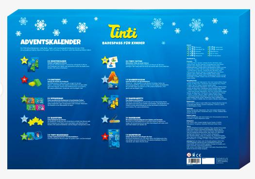 Tinti Adventskalender 2021 - Inhalt - Bild 1