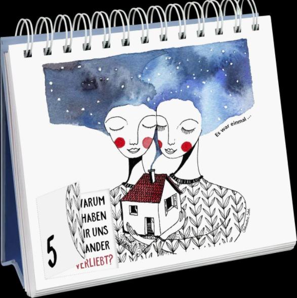 Achtsamkeits-Adventskalender 2021 - Inhalt - Beispielseite