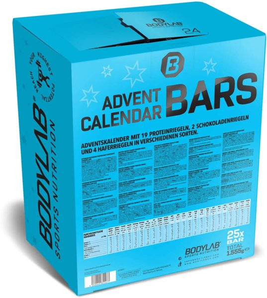 Bodylab Adventskalender 2020 Inhalt