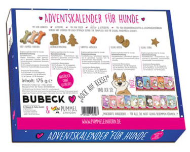 Bubeck-Pummel-Einhorn-Adventskalender-für-Hunde-2018-Inhalt
