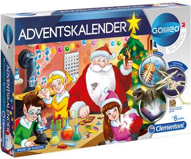 Mädchen Weihnachtskalender.Clementoni 59080 Galileo Science Clementoni 59080 Galileo Adventskalender 2019 Mehrfarben