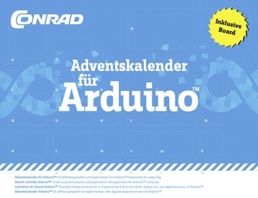 Conrad Adventskalender für Arduino