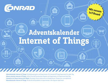 Conrad Components Adventskalender Internet of Things