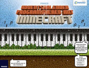 Programmieren mit Minecraft Conrad Components Adventskalender