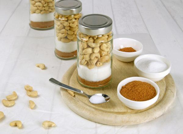 DIY-Gebrannte-Cashews-Zutaten