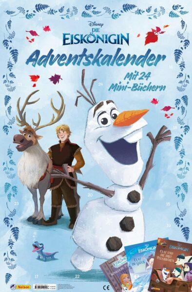 Inhalt - Die Eiskönigin: Minibuch-Adventskalender 2021