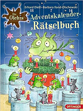 Die Olchis Rätselbuch Adventskalender 2017