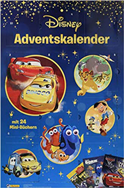 amazon Disney Minibuch Adventskalender 2019