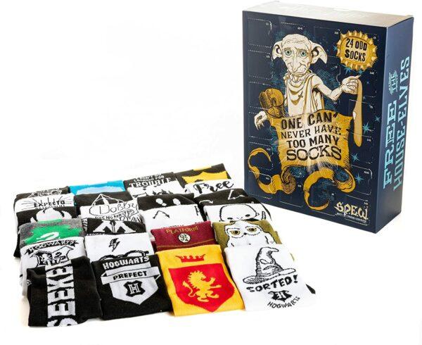 Harry Potter Socken Adventskalender Inhalt Bild 2