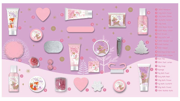 Inhalt Adventskalender DREAMY WINTER 2020