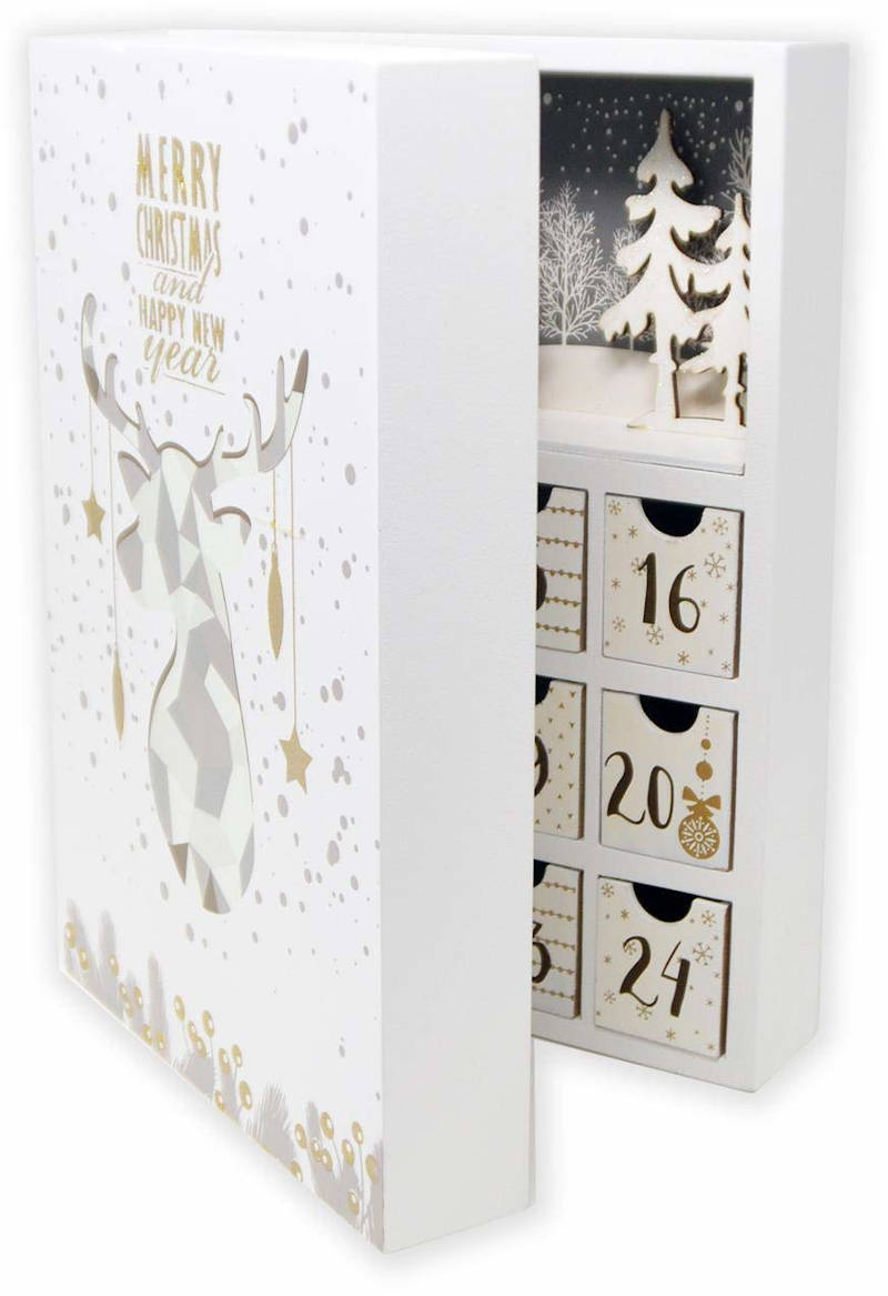DURLINE Adventskalender klappbar 2019