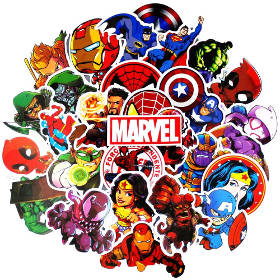 Marvel Sticker 2019