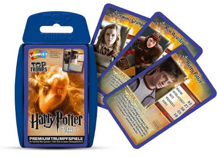 Füllen Harry Potter Trumpfspielkarten