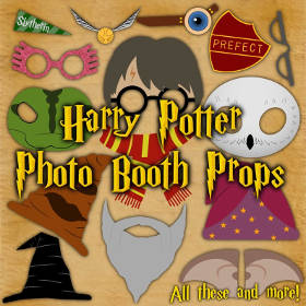 Füllen Harry Potter Party Utensilien
