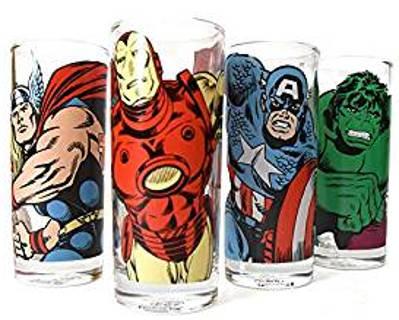 Avengers Gläser