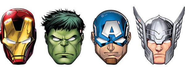 Avengers Masken