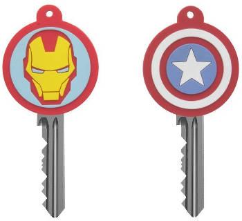 Captain America und Iron Man Schlüsselabdeckung