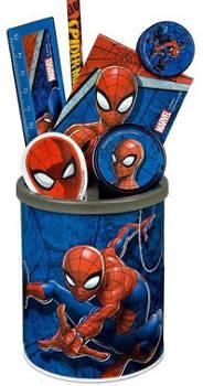 Stifteköcher, befüllt, Spiderman