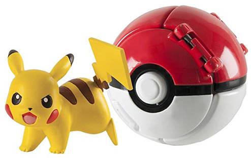 Adventskalender Füllen Pokemon Poke Ball und Pikachu
