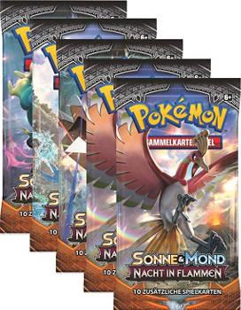 Adventskalender Füllen Pokémon Sammelkarten 5 Booster