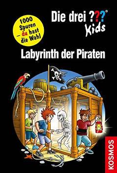 """Adventskalender Füllen drei Fragezeichen Kids Buch """"Labyrinth der Piraten"""""""