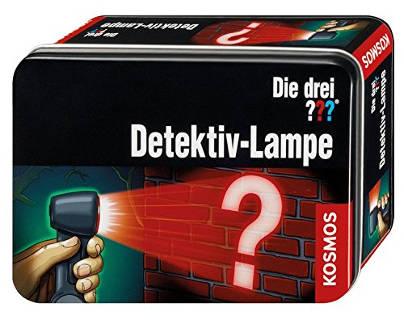 Adventskalender Füllen drei Fragezeichen Detektiv-Lampe