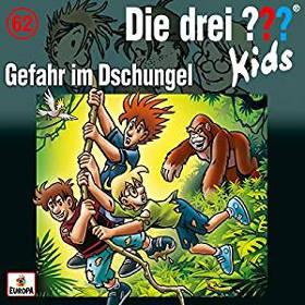 """Adventskalender Füllen drei Fragezeichen Kids Hörbuch """"Gefahr im Dschungel"""""""