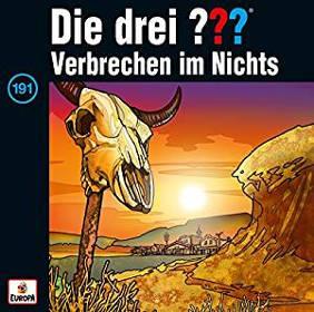 """Adventskalender Füllen drei Fragezeichen Hörspiel """"Verbrechen im Nichts"""""""