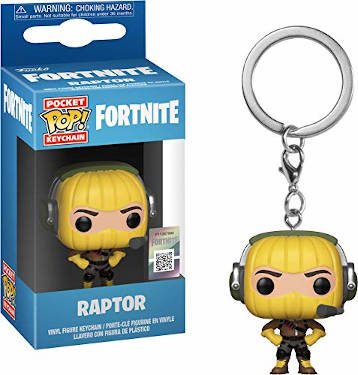 Adventskalender Füllideen - Funko Pocket Pop Fortnite Schlüsselanhänger - Fortnite Raptor