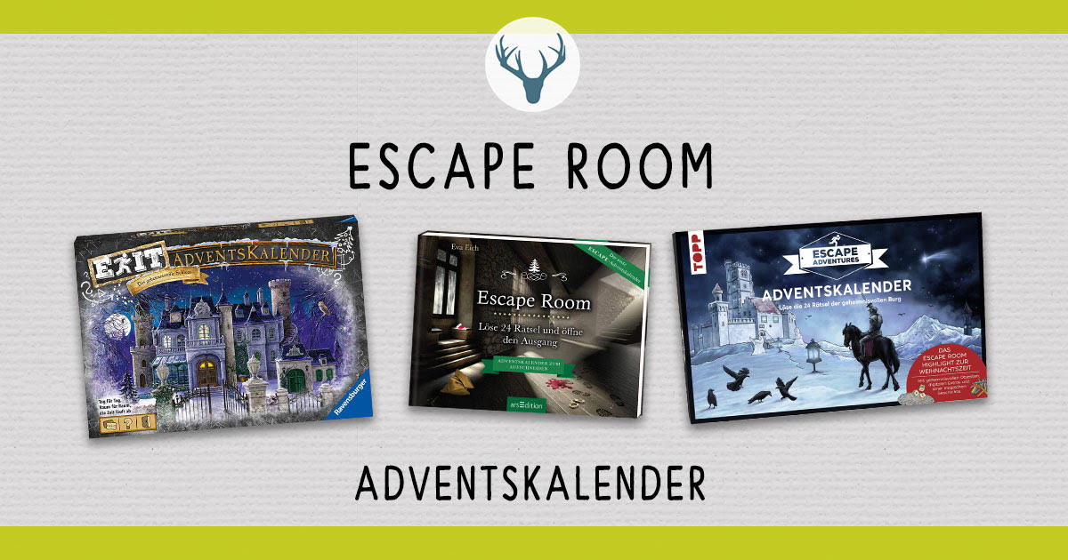 Escape Room Adventskalender 2019 Welche Gibt Es