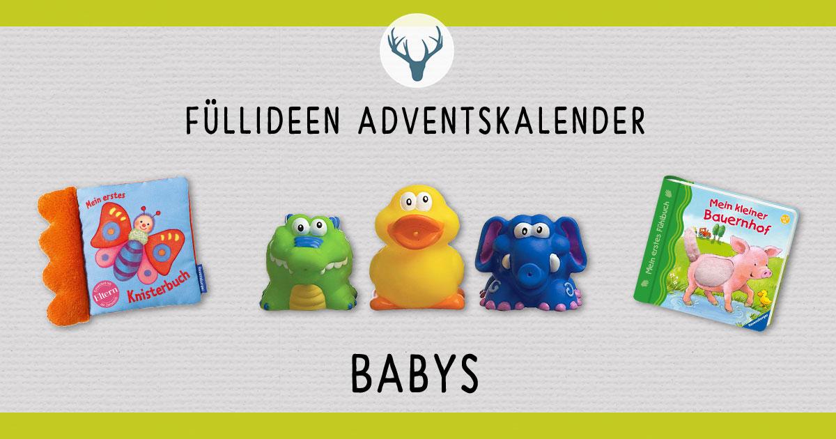 Ideen Für Adventskalender Baby.Adventskalender Fur Babys Die Besten Tipps Zum Fullen