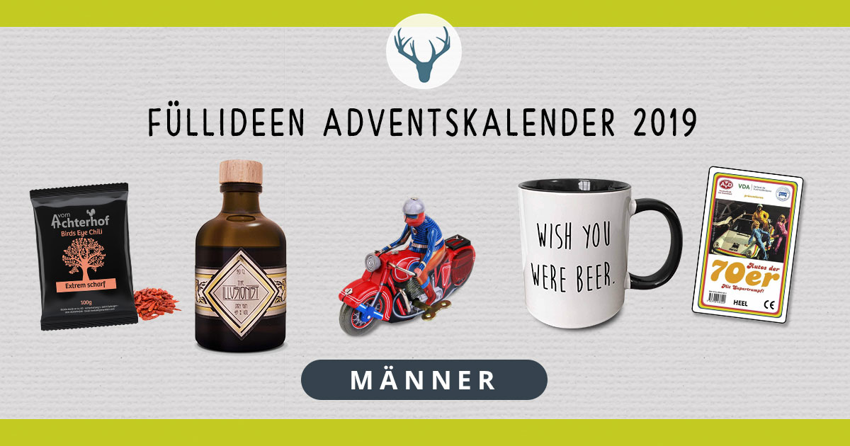 100 Adventskalender Ideen Die Manner Gut Finden