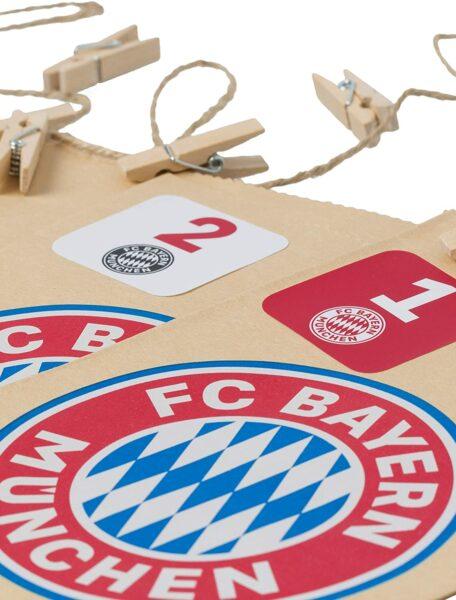 FC Bayern München DIY Adventskalender - Bild 1