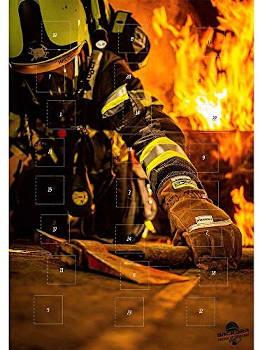 Schokolade Adventskalender Feuerwehr 2019