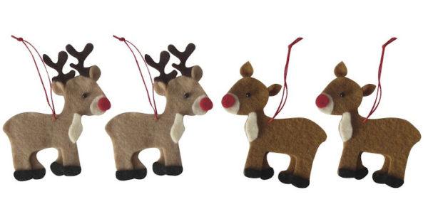 Bastelpackung Filz Rentiere Weihnachten Füllen Adventskalender Frauen
