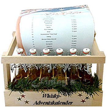 Finlays Whisky Adventskalender 2016