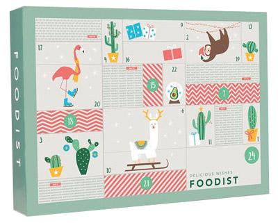 Foodist Weihnachtskalender.Geschenkidee Für Weihnachten Veganer Foodist Active Adventskalender Mit 24 Gesunden Snacks Leckereien Und Superfoods Von Unabhängigen